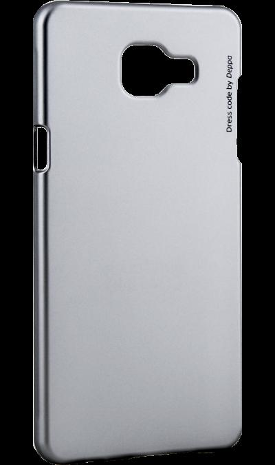 Чехол-крышка Deppa Air Case для Samsung Galaxy A5 (2016), пластик, серебристыйЧехлы и сумочки<br>Чехол Deppa поможет не только защитить ваш Samsung Galaxy A5 (2016) от повреждений, но и сделает обращение с ним более удобным, а сам аппарат будет выглядеть еще более элегантным.<br><br>Colour: Серебристый