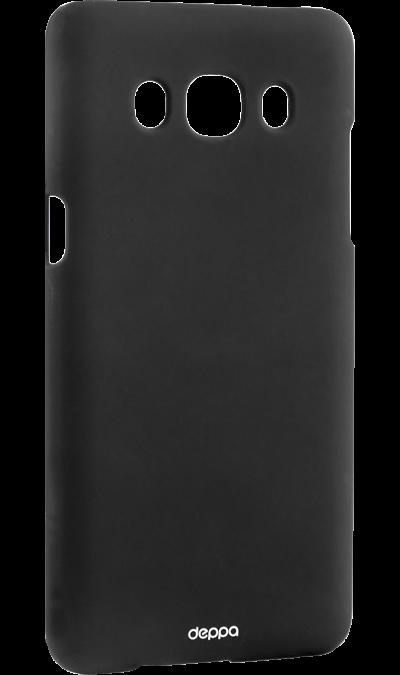 Чехол-крышка Deppa Air Case для Samsung Galaxy J5 (2016), пластик, черныйЧехлы и сумочки<br>Чехол Deppa поможет не только защитить ваш Samsung Galaxy J5 (2016) от повреждений, но и сделает обращение с ним более удобным, а сам аппарат будет выглядеть еще более элегантным.<br><br>Colour: Черный