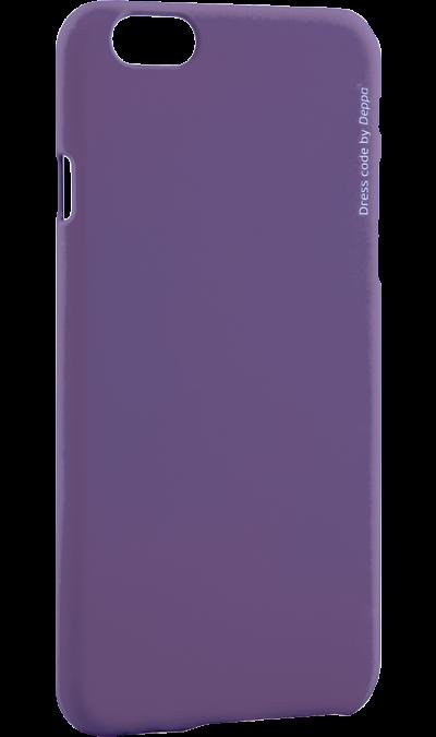 Чехол-крышка Deppa Air Case для iPhone 6/6s, пластик, фиолетовыйЧехлы и сумочки<br>Чехол Samsung поможет не только защитить ваш Samsung Galaxy A5 (2016) от повреждений, но и сделает обращение с ним более удобным, а сам аппарат будет выглядеть еще более элегантным.<br><br>Colour: Фиолетовый
