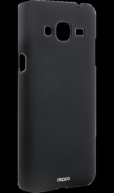 Чехол-крышка Deppa Air Case для Samsung Galaxy J3 (2016), силикон, черныйЧехлы и сумочки<br>Чехол Samsung поможет не только защитить ваш Samsung Galaxy J3 (2016) от повреждений, но и сделает обращение с ним более удобным, а сам аппарат будет выглядеть еще более элегантным.<br><br>Colour: Черный