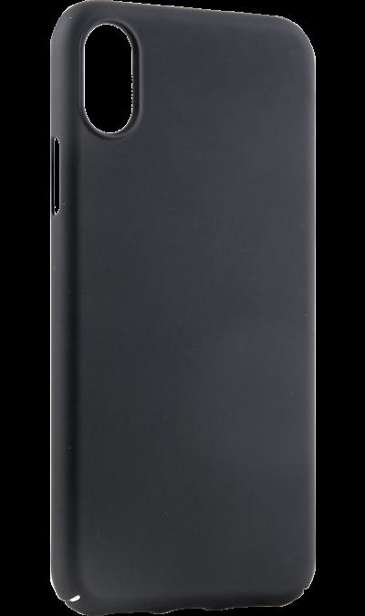 Чехол-крышка Deppa Air Case для iPhone X, пластик, черныйЧехлы и сумочки<br>Чехол Deppa поможет не только защитить ваш iPhone X от повреждений, но и сделает обращение с ним более удобным, а сам аппарат будет выглядеть еще более элегантным.<br><br>Colour: Черный