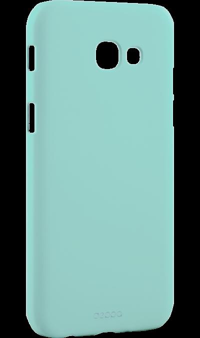 Чехол-крышка Deppa Air Case для Samsung Galaxy A5 (2017), пластик, мятныйЧехлы и сумочки<br>Чехол Deppa поможет не только защитить ваш Samsung Galaxy A5 (2017) от повреждений, но и сделает обращение с ним более удобным, а сам аппарат будет выглядеть еще более элегантным.<br>
