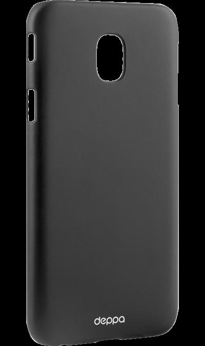 Чехол-крышка Deppa Air Case для Samsung Galaxy J3 (2017), силикон, черныйЧехлы и сумочки<br>Чехол Samsung поможет не только защитить ваш Samsung Galaxy J3 (2017) от повреждений, но и сделает обращение с ним более удобным, а сам аппарат будет выглядеть еще более элегантным.<br><br>Colour: Черный