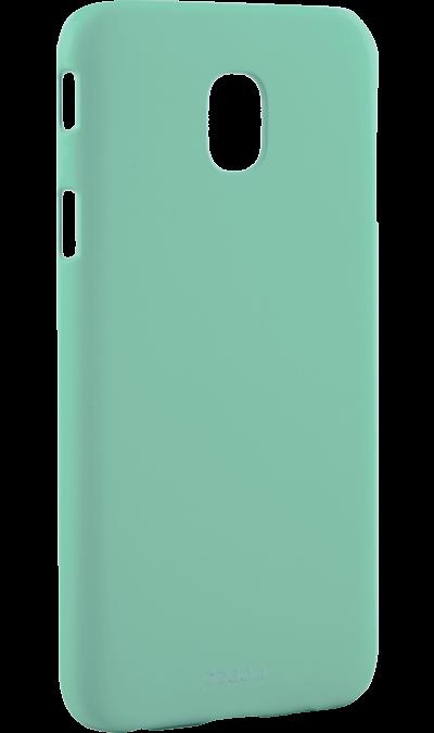 Чехол-крышка Deppa для Samsung Galaxy J7 (2017), пластик, мятныйЧехлы и сумочки<br>Чехол Samsung поможет не только защитить ваш Samsung Galaxy J7 (2017) от повреждений, но и сделает обращение с ним более удобным, а сам аппарат будет выглядеть еще более элегантным.<br>