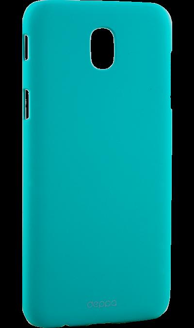 Чехол-крышка Deppa Air Case для Samsung J5 (2017), пластик, мятныйЧехлы и сумочки<br>Чехол Inter-Step поможет не только защитить ваш Samsung J5 (2017) от повреждений, но и сделает обращение с ним более удобным, а сам аппарат будет выглядеть еще более элегантным.<br>