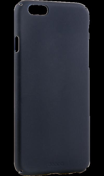 Чехол-крышка Deppa Air Case для iPhone 6/6s, пластик, черныйЧехлы и сумочки<br>Чехол Deppa поможет не только защитить ваш iPhone 6/6s от повреждений, но и сделает обращение с ним более удобным, а сам аппарат будет выглядеть еще более элегантным.<br><br>Colour: Черный
