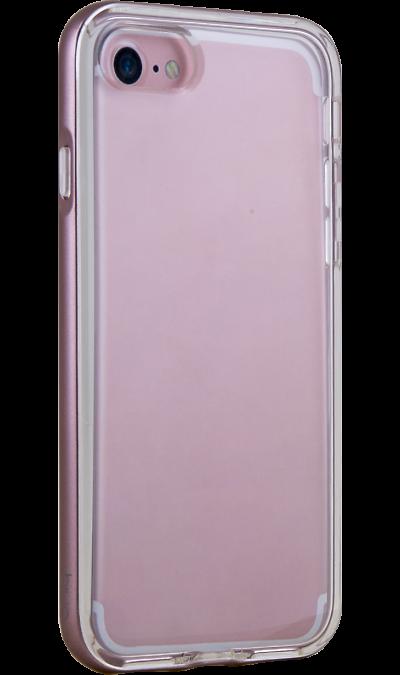 Чехол-крышка Uniq Aeroporte для iPhone 7/8, силикон, розовыйЧехлы и сумочки<br>Чехол Uniq поможет не только защитить ваш iPhone 7/8 от повреждений, но и сделает обращение с ним более удобным, а сам аппарат будет выглядеть еще более элегантным.<br>