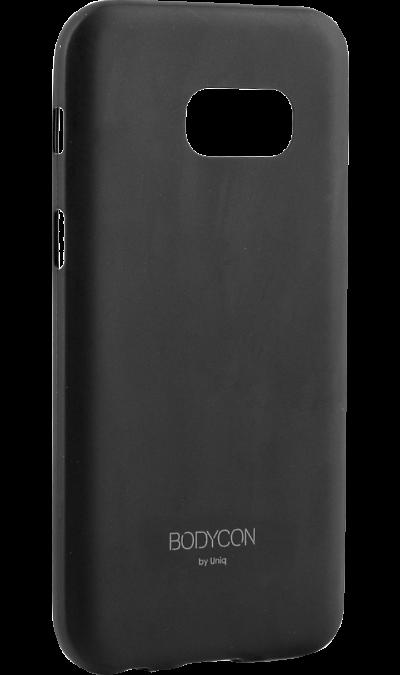 Uniq Чехол-крышка Uniq Bodycon для Samsung Galaxy A3 (2017), пластик, черный uniq чехол крышка uniq bodycon для samsung galaxy a3 силикон черный