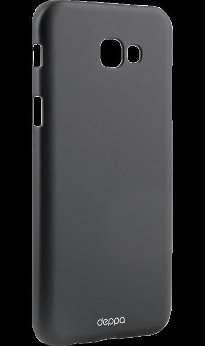 Чехол-крышка Deppa Air Case для Samsung Galaxy A7 (2017), пластик, черныйЧехлы и сумочки<br>Чехол Deppa поможет не только защитить ваш Samsung Galaxy A7 (2017) от повреждений, но и сделает обращение с ним более удобным, а сам аппарат будет выглядеть еще более элегантным.<br><br>Colour: Черный