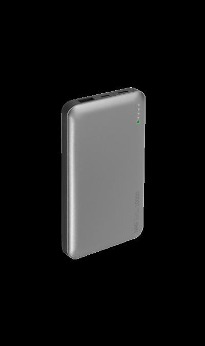 Аккумулятор Deppa, Li-Ion, 10000 мАч, графит (портативный)Аккумуляторы внешние<br>Благодаря Deppa вы не останетесь с разряженной батареей на ходу. Портативный аккумулятор мощностью 10000 мАч идеален для полной зарядки смартфона или планшета, когда рядом нет розетки. Мощности устройства достаточно, чтобы полностью зарядить смартфон 3-4 раза или планшет 2 раза. Светодиодные индикаторы позволяют узнать, сколько мощности доступно. С двумя USB-портами аккумулятор может заряжать два устройства одновременно.<br><br>Colour: Серый