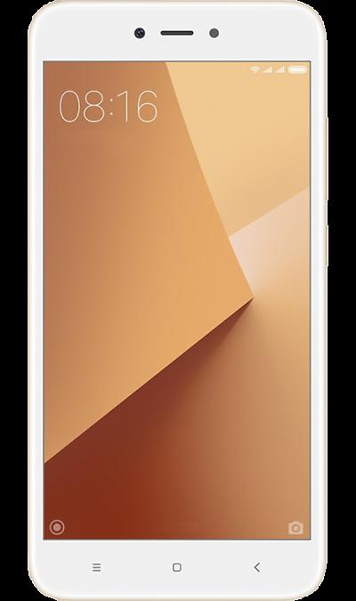 Xiaomi Redmi Note 5A 2/16GB GoldСмартфоны<br>2G, 3G, 4G, Wi-Fi; ОС Android; Дисплей сенсорный 16,7 млн цв. 5.5; Камера 13 Mpix, AF; Разъем для карт памяти; MP3, FM,  BEIDOU / GPS / ГЛОНАСС; Вес 150 г.<br><br>Colour: Золотистый