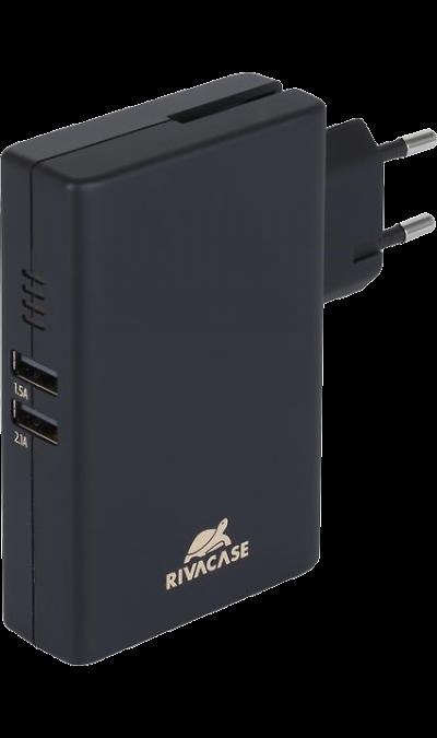 Аккумулятор RIVACASE, Li-Ion, 5000 мАч, серый (портативный)
