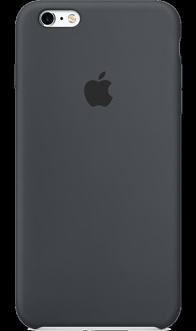 Чехол-крышка Apple для iPhone 6 Plus, силикон, серыйЧехлы и сумочки<br>Чехол-крышка для iPhone 6 - придаст индивидуальность вашему телефону!<br><br>Colour: Серый
