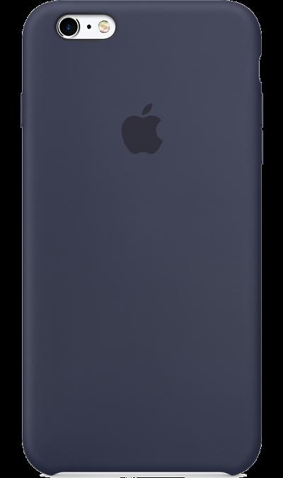 Apple Чехол-крышка Apple для iPhone 6 Plus, силикон, синий чехол для iphone 6 глянцевый printio сад на улице корто сад на монмартре ренуар