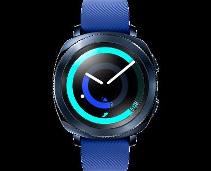 Купить Умные часы Samsung Gear Sport (синие) по выгодной цене в ... c9bbe9ead5a35