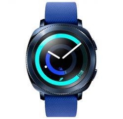 Купить Умные часы Samsung Gear Sport (синие) по выгодной цене в Москве в  интернет-магазине МегаФон 19a916b96b482