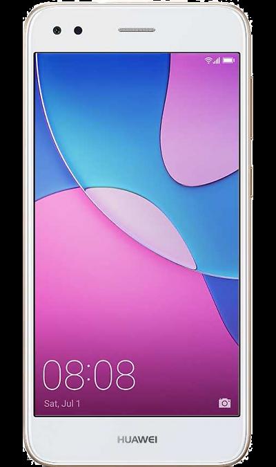 Huawei Nova Lite 2017Смартфоны<br>2G, 3G, 4G, Wi-Fi; ОС Android; Дисплей сенсорный емкостный 16,7 млн цв. 5; Камера 13 Mpix, AF; Разъем для карт памяти; MP3, FM,  GPS / ГЛОНАСС; Вес 146 г.<br><br>Colour: Золотистый