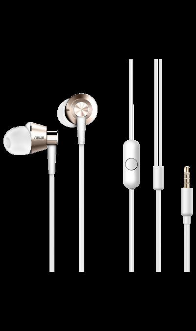Проводные наушники ASUS Zen-Ear S, с кнопкой ответа, стереоНаушники и гарнитуры<br>Какой должна быть музыка.<br>ASUS ZenEar S - это маленькие наушники, которые производят огромное впечатление. Благодаря двойным металлическим резонаторам они выдают реалистичный звук с мощными басами. Выполненные в серебристом цвете, эти наушники будут идеальным дополнением для роскошного смартфона ZenFone 3 Deluxe - а также стильным аксессуаром для любого другого мобильного устройства. <br>Безупречный стиль.<br>Наушники ZenEar S - это не только великолепный звук, но и ...<br><br>Colour: Белый