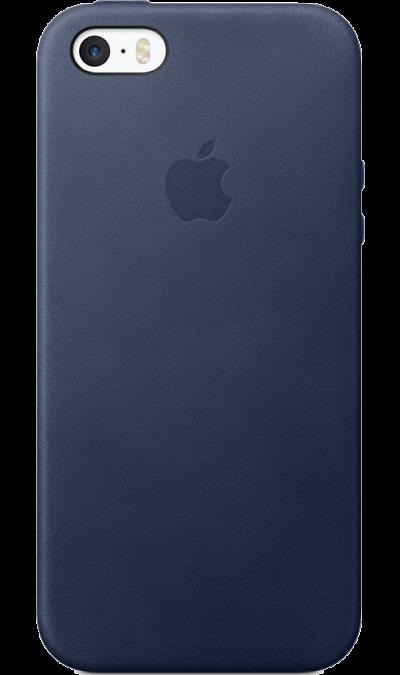 Чехол-крышка Apple для iPhone 5S/SE, кожа, cинийЧехлы и сумочки<br>Этот роскошный чехол от Apple изготовлен из специально обработанной и выделанной кожи европейского производства. Поскольку он создан специально для iPhone 5/SE, он плотно прилегает к корпусу, так что ваш телефон всё равно будет выглядеть невероятно тонким. Мягкая внутренняя поверхность чехла, выполненная из микроволокна, защитит корпус вашего iPhone. А внешняя сторона порадует вас насыщенным оттенком: благодаря специальной технологии краситель проникает глубоко в структуру кожи.<br><br>Colour: Синий