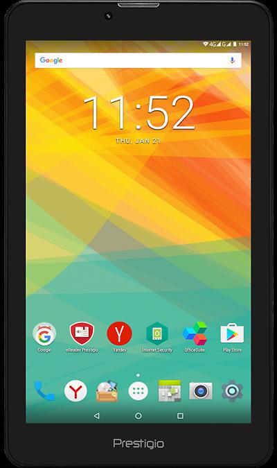 Prestigio Grace PMT3157D 4GПланшеты<br>2G, 3G, 4G, Wi-Fi; ОС Android; Дисплей сенсорный емкостный 16,7 млн цв. 7; Камера 2 Mpix; Разъем для карт памяти; MP3, FM,  GPS; Вес 266 г.<br><br>Colour: Черный