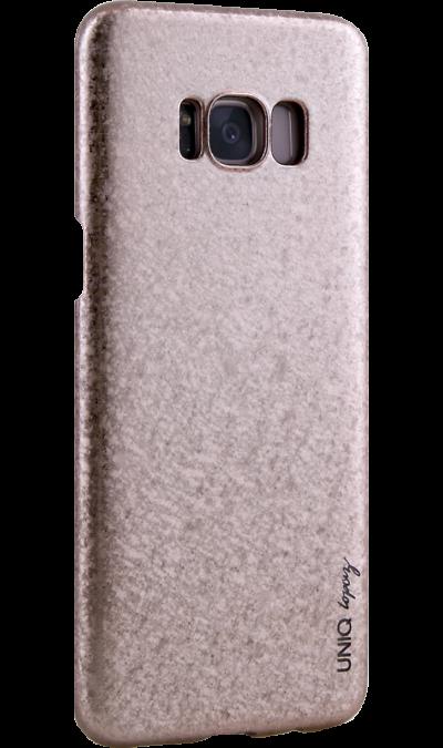 Чехол-крышка Uniq Topaz для Samsung Galaxy S8, пластик, розовыйЧехлы и сумочки<br>Чехол обеспечит надежную защиту задней крышке и торцам устройства. Не сильно увеличивает размеры смартфона. Оснащен необходимыми отверстиями под порты и камеру.<br><br>Colour: Розовый