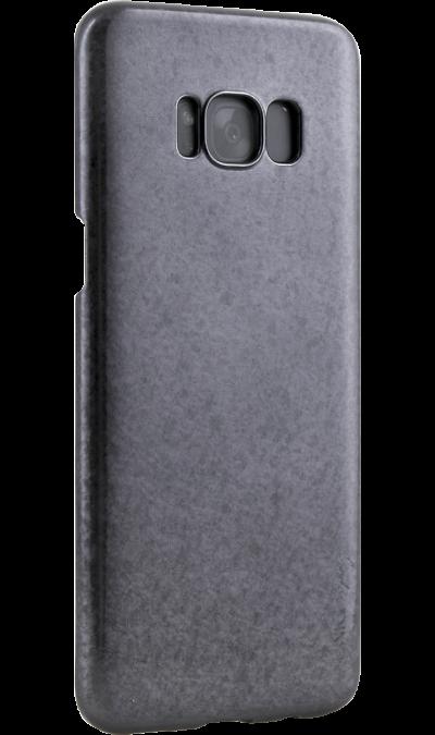 Чехол-крышка Uniq Topaz для Samsung Galaxy S8, пластик, черныйЧехлы и сумочки<br>Чехол обеспечит надежную защиту задней крышке и торцам устройства. Не сильно увеличивает размеры смартфона. Оснащен необходимыми отверстиями под порты и камеру.<br><br>Colour: Черный