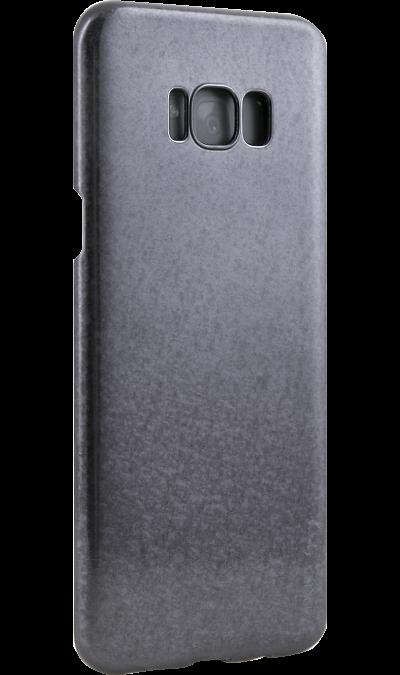 Чехол-крышка Uniq Topaz для Samsung Galaxy S8 Plus, пластик, черныйЧехлы и сумочки<br>Чехол обеспечит надежную защиту задней крышке и торцам устройства. Не сильно увеличивает размеры смартфона. Оснащен необходимыми отверстиями под порты и камеру.<br><br>Colour: Черный