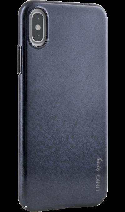 Чехол-крышка Uniq Topaz для iPhone X, пластик, синийЧехлы и сумочки<br>Чехол Uniq поможет не только защитить ваш iPhone X от повреждений, но и сделает обращение с ним более удобным, а сам аппарат будет выглядеть еще более элегантным.<br><br>Colour: Синий