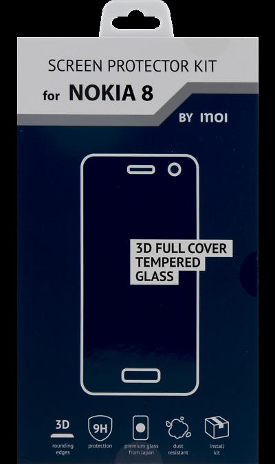 Защитное стекло Inoi для Nokia 8Защитные стекла и пленки<br>Качественное защитное стекло прекрасно защищает дисплей от царапин и других следов механического воздействия. Оно не содержит клеевого слоя и крепится на дисплей благодаря эффекту электростатического притяжения.<br>