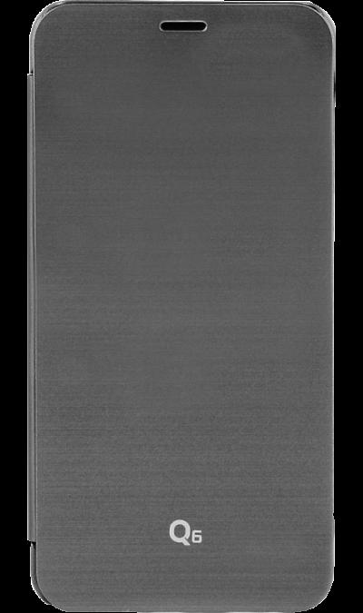 Чехол-книжка VOIA для  LG Q6, пластик, черныйЧехлы и сумочки<br>Чехол VOIA поможет не только защитить ваш LG Q6 от повреждений, но и сделает обращение с ним более удобным, а сам аппарат будет выглядеть еще более элегантным.<br><br>Colour: Черный