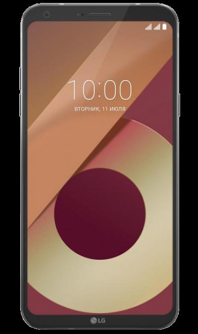 LG Q6a M700 BlackСмартфоны<br>2G, 3G, 4G, Wi-Fi; ОС Android; Камера 13 Mpix, AF; Разъем для карт памяти; MP3,  GPS; Время работы 470 ч. / 16.0 ч.; Вес 149 г.<br><br>Colour: Черный