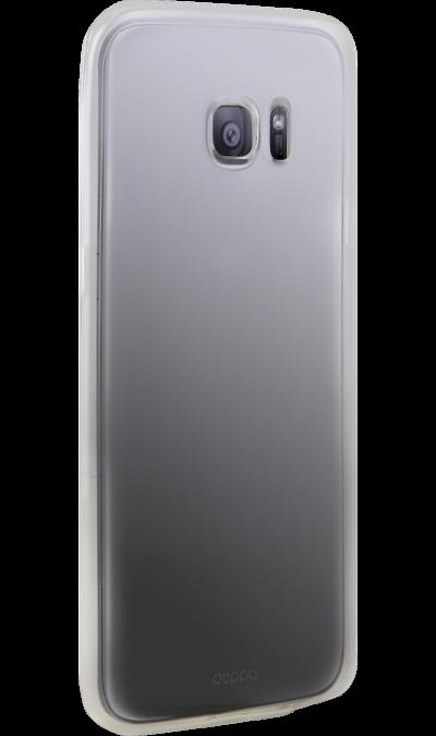 Чехол-крышка Deppa bodycon для Samsung Galaxy S7 Edge, силикон, прозрачныйЧехлы и сумочки<br>Чехол Deppa поможет не только защитить ваш Samsung Galaxy S7 от повреждений, но и сделает обращение с ним более удобным, а сам аппарат будет выглядеть еще более элегантным.<br>