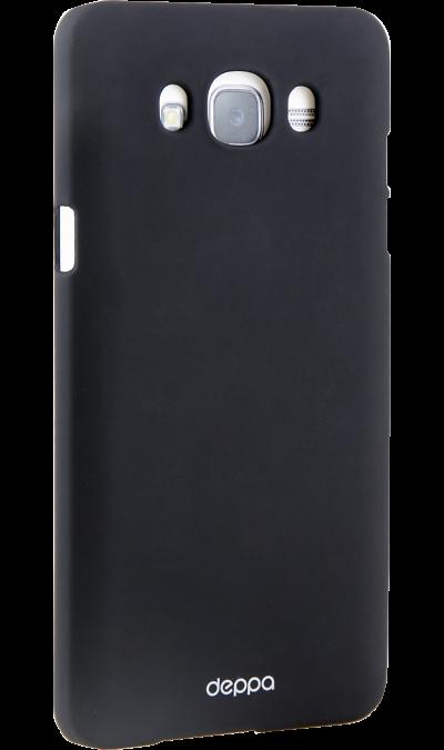 Deppa Чехол-крышка Deppa AIR Case для Samsung Galaxy J7 (2016), пластик, черный чехлы для телефонов deppa чехол air case для samsung galaxy a7 2016 серый