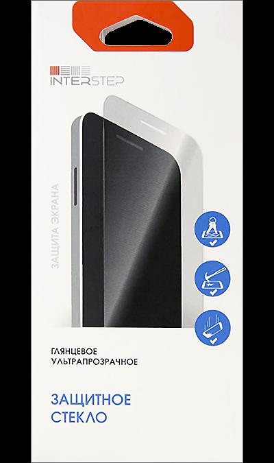 Защитное стекло Inter-Step 3D для Apple iPhone 7/8 (черное)Защитные стекла и пленки<br>Качественное защитное стекло прекрасно защищает дисплей от царапин и других следов механического воздействия. Оно не содержит клеевого слоя и крепится на дисплей благодаря эффекту электростатического притяжения.<br>
