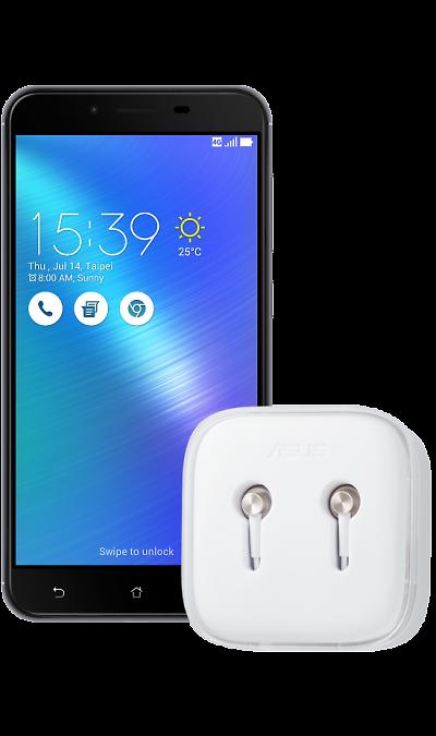Asus ZC553KL Grey + тариф Включайся! Общайся и наушники Asus Zen-Ear SСмартфоны<br><br>