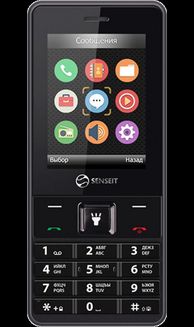 SENSEIT L208Телефоны<br>2G; Дисплей 65,5 тыс цв. 2.4; Разъем для карт памяти; MP3, FM; Время работы 2100 ч. / 50.0 ч.; Вес 120 г.<br><br>Colour: Черный