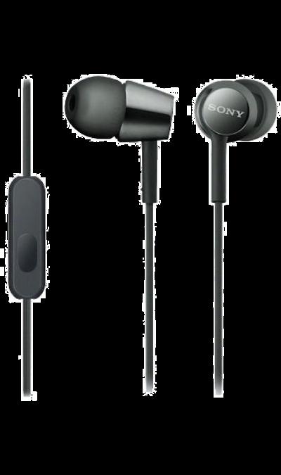 Sony MDR-EX155PBНаушники и гарнитуры<br>Компактность и высокое качество звука.<br>Высокочувствительные 9-миллиметровые динамики в компактном корпусе обеспечивают четкое звучание верхних частот и мощные басы.<br><br>Устойчивый к спутыванию кабель.<br>Устойчивый к спутыванию и перекручиванию рифленый кабель обеспечивает комфорт при использовании наушников.<br><br>Вкладыши четырех размеров.<br>Вкладыши четырех размеров (SS, S, M и L) позволяют адаптировать наушники под свои потребности для максимально ...<br><br>Colour: Черный