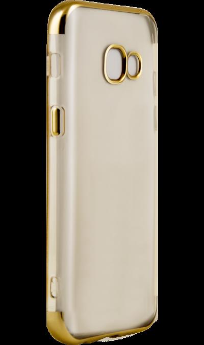 Чехол-крышка Vipe для Samsung Galaxy A3 (2017), термополиуретан, золотистыйЧехлы и сумочки<br>Чехол Vipe поможет не только защитить ваш Samsung Galaxy A3 (2017) от повреждений, но и сделает обращение с ним более удобным, а сам аппарат будет выглядеть еще более элегантным.<br><br>Colour: Золотистый