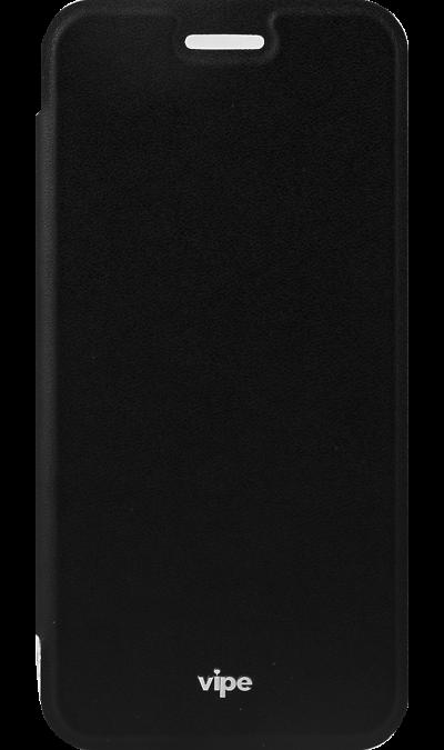 Vipe Чехол-книжка Vipe для Samsung Galaxy A3 (2017), кожзам, черный чехол для сотового телефона takeit для samsung galaxy a3 2017 metal slim металлик