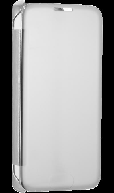Чехол-книжка Anymode Me-In для Samsung Galaxy S7 Edge, пластик, серебристыйЧехлы и сумочки<br>Чехол Anymode поможет не только защитить ваш Samsung Galaxy S7 Edge от повреждений, но и сделает обращение с ним более удобным, а сам аппарат будет выглядеть еще более элегантным.<br><br>Colour: Серебристый