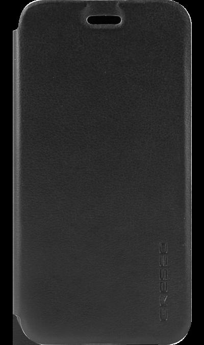 Gresso Чехол-книжка Gresso Atlant для Samsung Galaxy A3 (2017), кожзам, черный gresso чехол книжка gresso для xiaomi redmi 4x кожзам черный