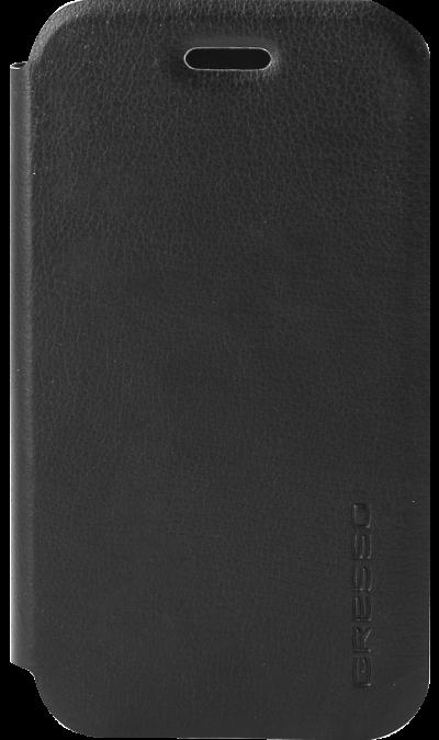 Чехол-книжка Gresso Atlant для Samsung Galaxy J1 Mini Prime, кожзам, черныйЧехлы и сумочки<br>Чехол поможет не только защитить ваш смартфон от повреждений, но и сделает обращение с ним более удобным, а сам аппарат будет выглядеть еще более элегантным.<br><br>Colour: Черный