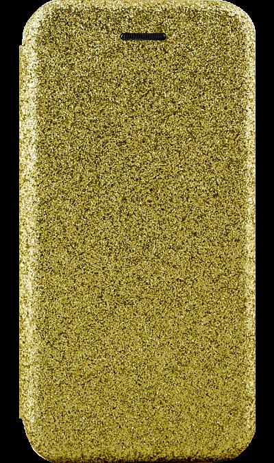 Gresso Чехол-книжка Gresso Glitter для Apple iPhone 7/8, пластик, золотистый клип кейс gresso виктория модель 1 для apple iphone 7 8 с рисунком
