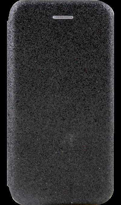 Gresso Чехол-книжка Gresso Glitter для Apple iPhone 7/8, пластик, черный клип кейс gresso виктория модель 1 для apple iphone 7 8 с рисунком