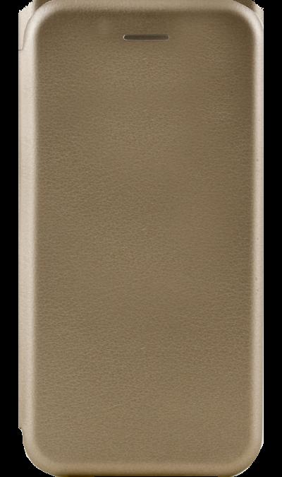 Gresso Чехол-книжка Gresso Platinum для Apple iPhone 7/8, кожзам, золотистый клип кейс gresso виктория модель 1 для apple iphone 7 8 с рисунком