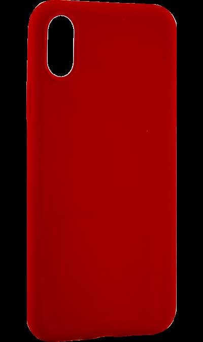 Чехол-крышка ANYCASE TPU для iPhone X, термополиуретан, красный фото