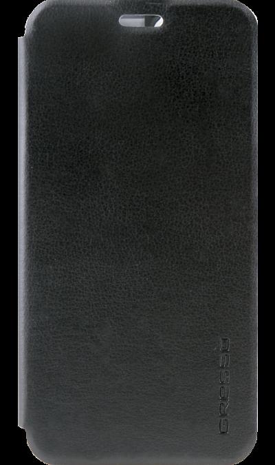 Gresso Чехол-книжка Gresso Absolut Air для Asus ZC520KL, кожзам, черный gresso чехол книжка gresso absolut air для zte axon 7 mini кожзам золотистый