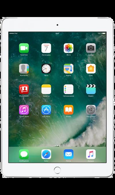 Apple iPad 32Gb SilverПланшеты<br>2G, 3G, 4G, Wi-Fi; ОС iOS; Дисплей сенсорный емкостный 16,7 млн цв. 9.7; Камера 8 Mpix, AF; MP3,  GPS / ГЛОНАСС; Вес 469 г.<br><br>Colour: Серебристый