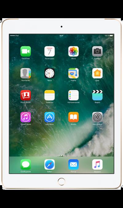 Apple iPad 32Gb GoldПланшеты<br>2G, 3G, 4G, Wi-Fi; ОС iOS; Дисплей сенсорный емкостный 16,7 млн цв. 9.7; Камера 8 Mpix, AF; MP3,  GPS / ГЛОНАСС; Вес 469 г.<br><br>Colour: Золотистый