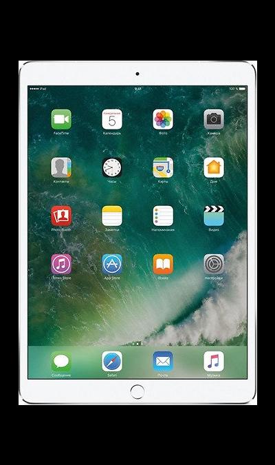 Apple iPad Pro 256GBПланшеты<br>2G, 3G, 4G, Wi-Fi; ОС iOS; Дисплей сенсорный емкостный 16,7 млн цв. 10.5; Камера 12 Mpix, AF; MP3,  GPS / ГЛОНАСС; Вес 469 г.<br><br>Colour: Серебристый
